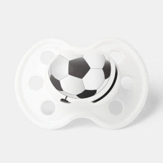 Mounted Football On Rotating Swivel Pacifier