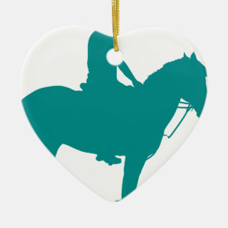 Mounted Games Pony Ceramic Ornament
