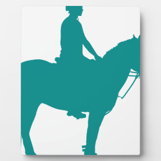 Mounted Games Pony Plaque