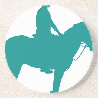 Mounted Games Pony Sandstone Coaster