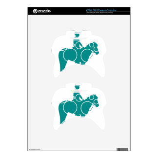 Mounted Games Pony Xbox 360 Controller Decal