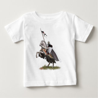 Mounted Knight Templar Baby T-Shirt