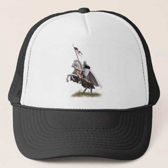 Mounted Knight Templar Trucker Hat