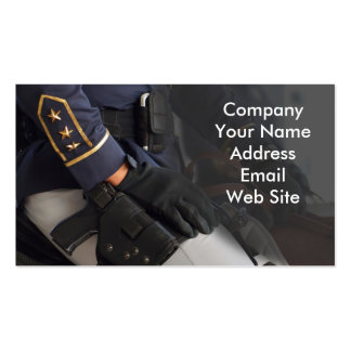 Mounted Police Double-Sided Standard Business Cards (Pack Of 100)