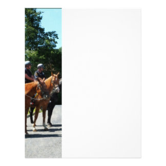 Mounted Police Profile Flyer