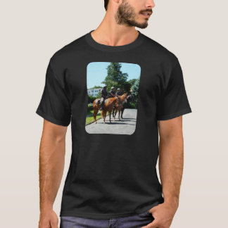Mounted Police Profile T-Shirt