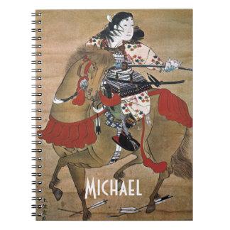 Mounted Samurai Notebook