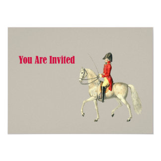 Mounted Victorian Military Officer Card