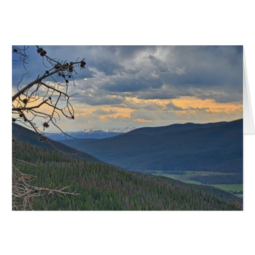 Mountian Landscape Note Card