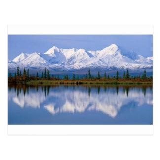 Mountians de Alaska Tarjetas Postales