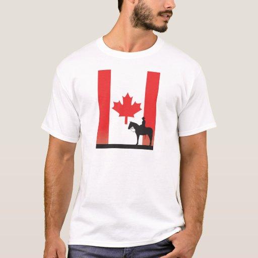 Mountie canadiense playera