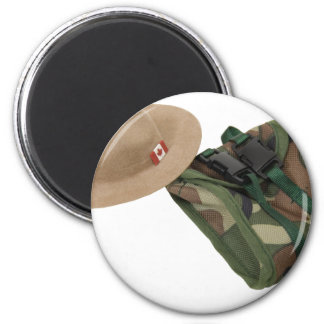 MountieHatBackpack051409 2 Inch Round Magnet