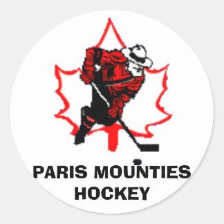 Mounties Sticker