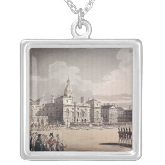 Mounting Guard at St. James's Park Silver Plated Necklace