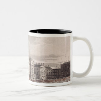 Mounting Guard at St. James's Park Two-Tone Coffee Mug