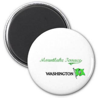 Mountlake Terrace Washington City Classic 2 Inch Round Magnet