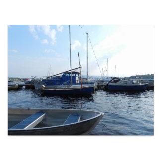 Mountshannon harbour - Ireland Postcards
