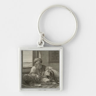 Mourad Bey, from Volume II Costumes and Portraits Keychain
