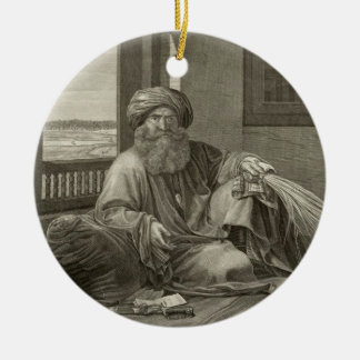 Mourad Bey, from Volume II Costumes and Portraits Christmas Tree Ornaments