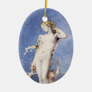 Moureau Aphrodite Birth of Venus Ceramic Ornament