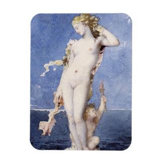 Moureau Aphrodite Birth of Venus Rectangular Photo Magnet