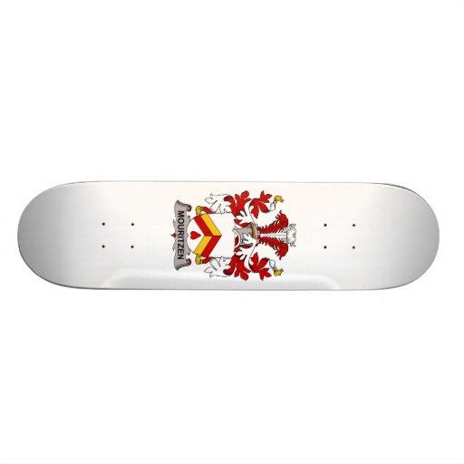 Mouritzen Family Crest Skate Deck