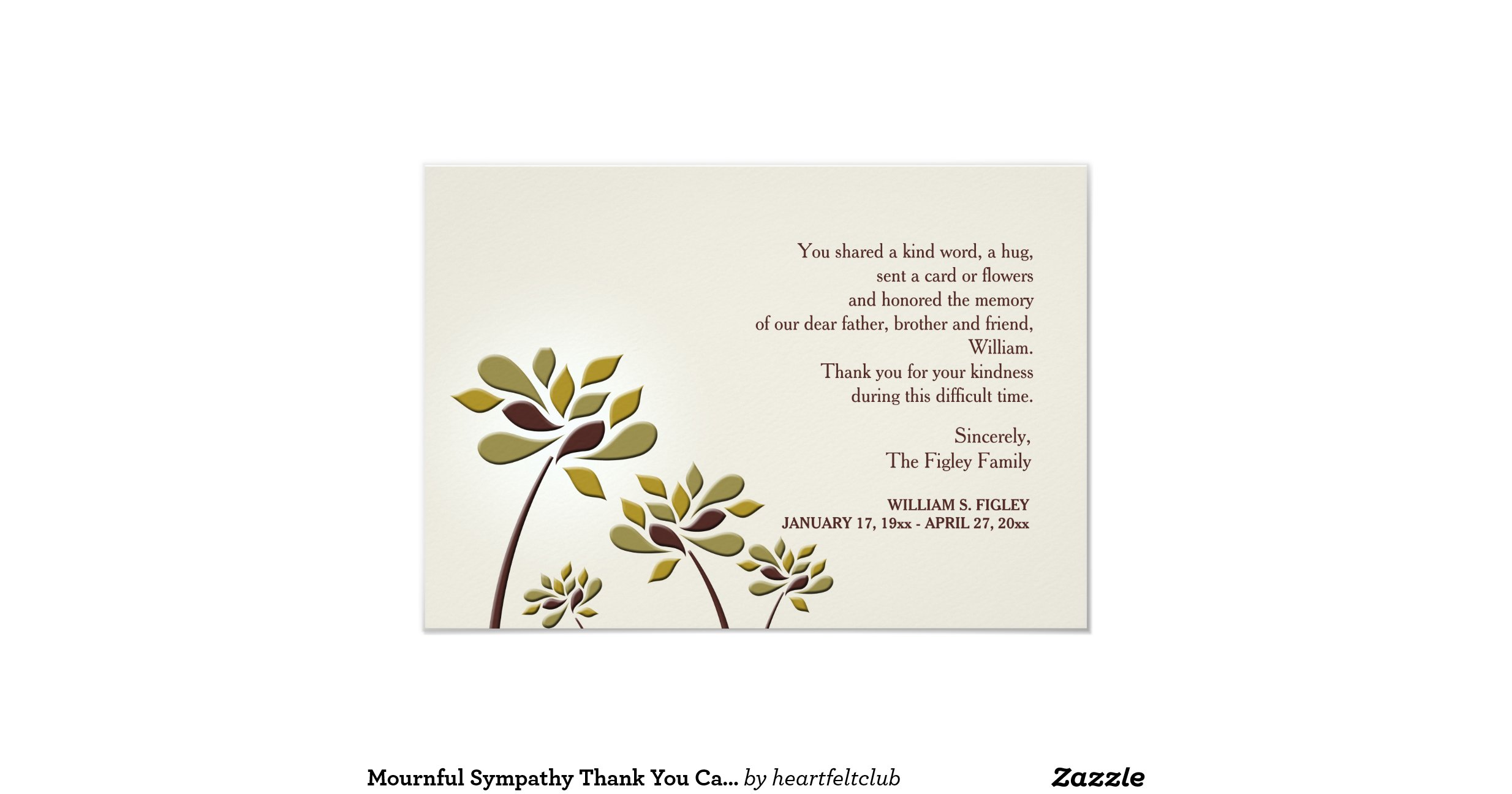 Thank you sympathy cards militaryalicious thank you sympathy cards thecheapjerseys Image collections