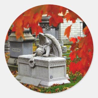 Mourning Angel Sticker