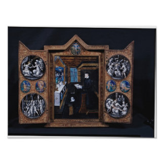 Mourning cabinet poster