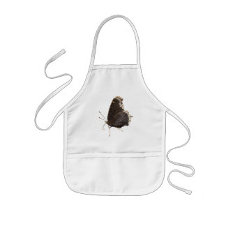 Mourning Cloak butterfly ~ baby bib Kids' Apron