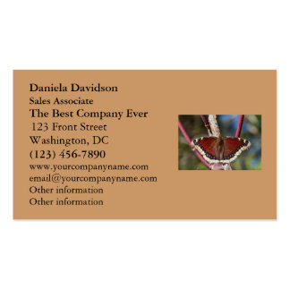 Mourning Cloak Butterfly Business Card