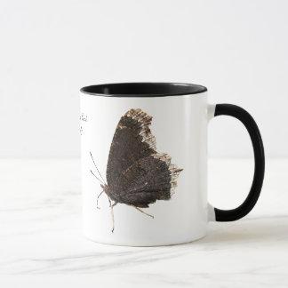 Mourning Cloak butterfly ~ mug