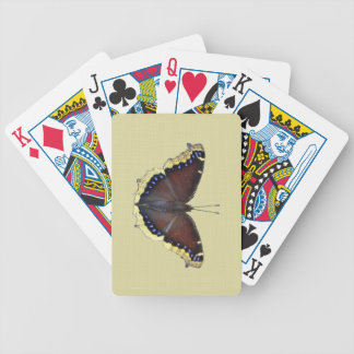 Mourning Cloak Butterfly - Nymphalis antiopa Bicycle Playing Cards