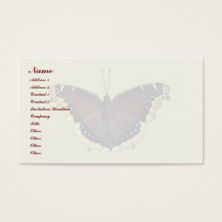 Mourning Cloak Butterfly - Nymphalis antiopa Business Card