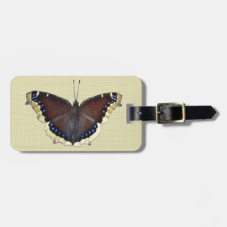 Mourning Cloak Butterfly - Nymphalis antiopa Luggage Tag