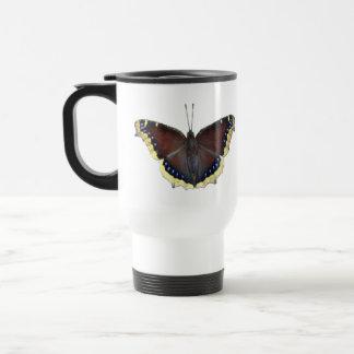 Mourning Cloak Butterfly - Nymphalis antiopa Travel Mug