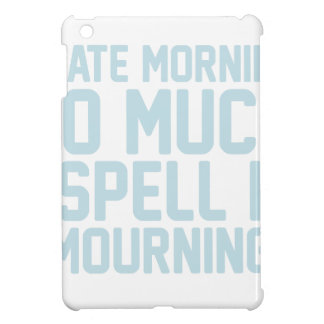 Mourning Cover For The iPad Mini