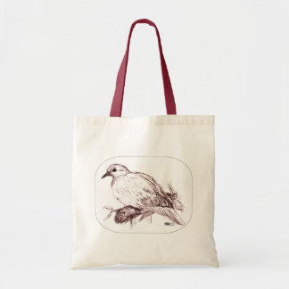 Mourning Dove Baby Tote Bag
