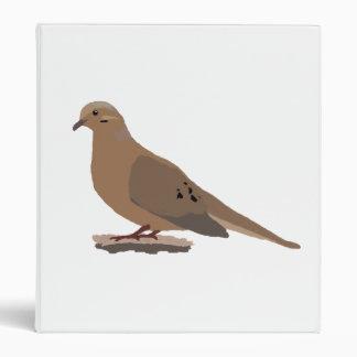 Mourning Dove Vinyl Binders