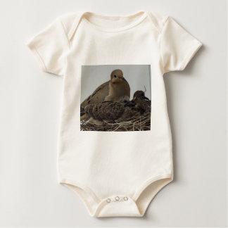 Mourning Dove Family Baby Bodysuit