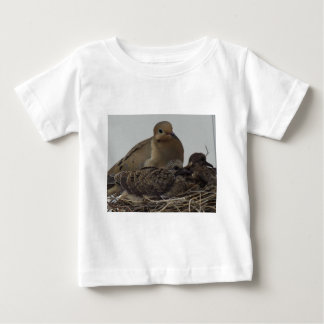 Mourning Dove Family Baby T-Shirt
