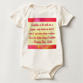 Mourning Dove infant onsie creeper