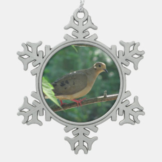 Mourning Dove ~ Pewter ornament