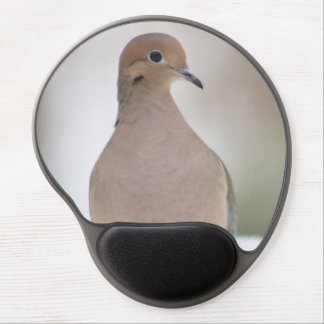 Mourning dove photography gel mouse pad