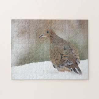 Mourning dove photography jigsaw puzzle