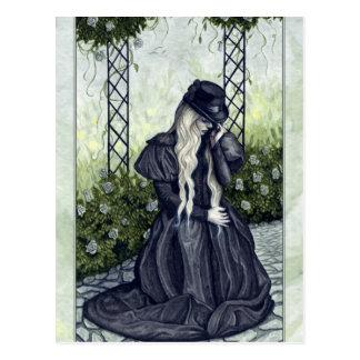 Mourning Garden postcard
