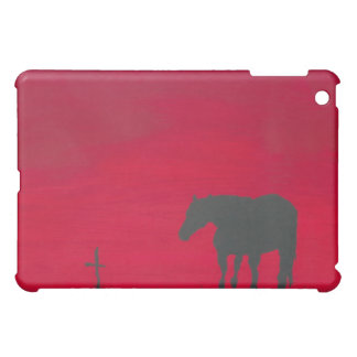 Mourning Horse Case For The iPad Mini