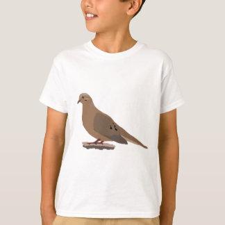 Mourning, Love or Turtle Dove Digitally Drawn Bird T-Shirt