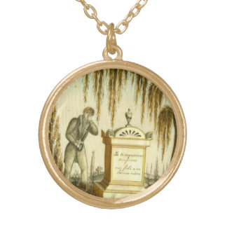 Mourning Man Vintage Costume Jewelry Charm