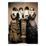 Mourning Victorians Greeting Card